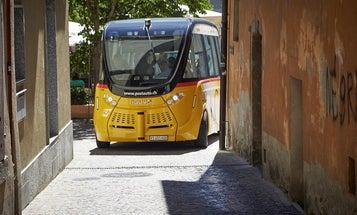 Driverless Bus Gets Into Fender Bender In Switzerland