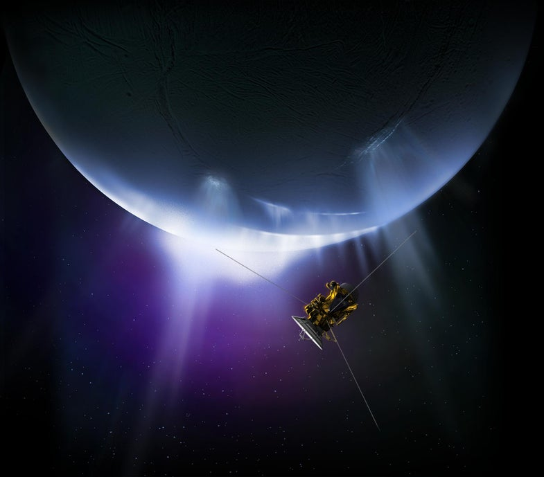Cassini Mission Flies By Enceladus For The Last Time This Weekend