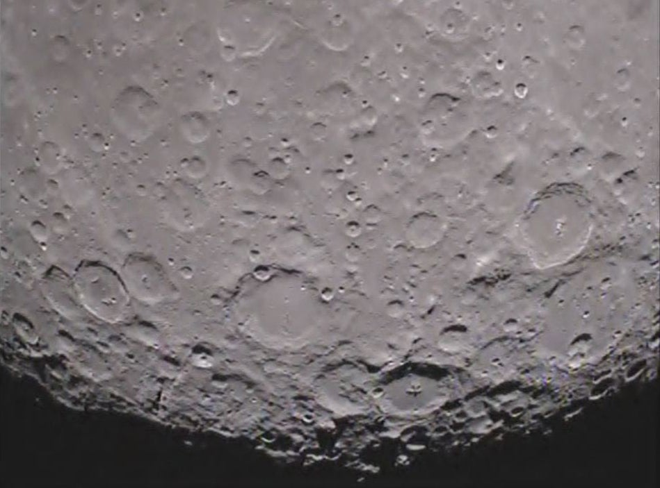 GRAIL Probes Shoot the First Movie of the Dark Side of the Moon