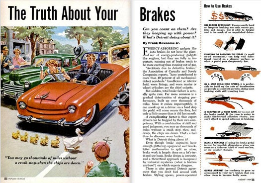 The Truth About Your Breaks: August 1954