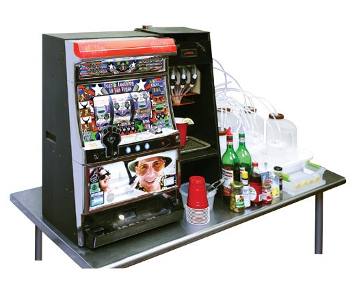 The Bar Is Open: A Slot Machine That Pays In Drinks