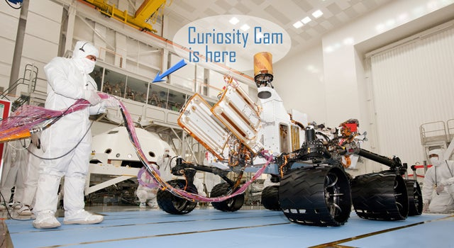 Live Video: Watch NASA's Newest Mars Rover Being Built, Piece by Piece
