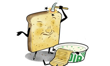 Why Does Stale Bread Turn Hard, But Stale Chips Turn Soft?