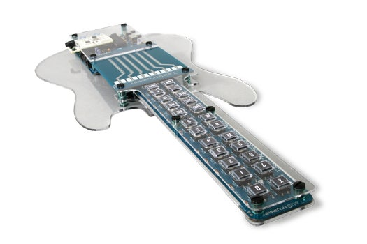 A Stringless Guitar Simulator That Anyone Can Play