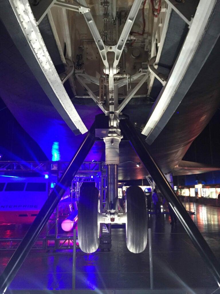 Enterprise from below
