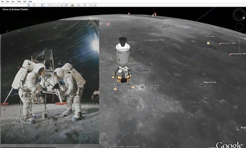 Fly to the Moon with Google Earth