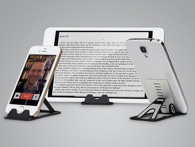 Credit Card-Sized Smartphone and Tablet Stand