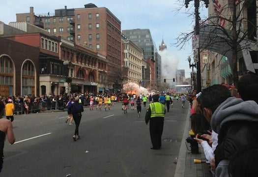 Explosions At Boston Marathon Heighten Security In New York And London