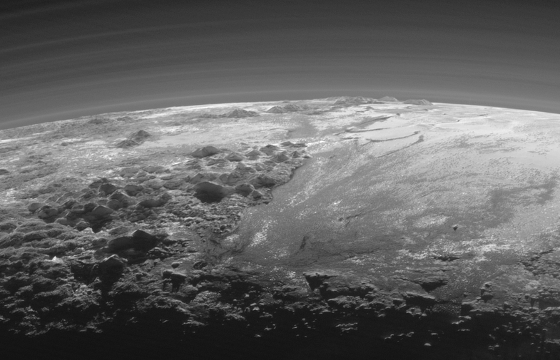New Pluto Images Hint At Alien Weather Cycle