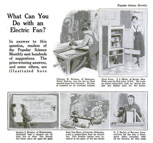Electric Fan: September 1920