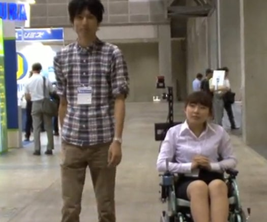 Video: Robotic Wheelchair Can Be Set to Automatically Follow A Human