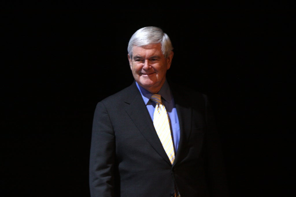 The Moon Should Be the 51st State, and Other Space Dreams From Newt Gingrich