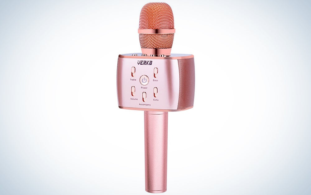 VERKB wireless karaoke mic
