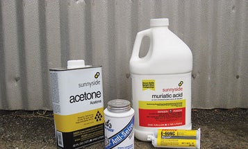Tech Support: Marshall's Vital Chemicals for DIY