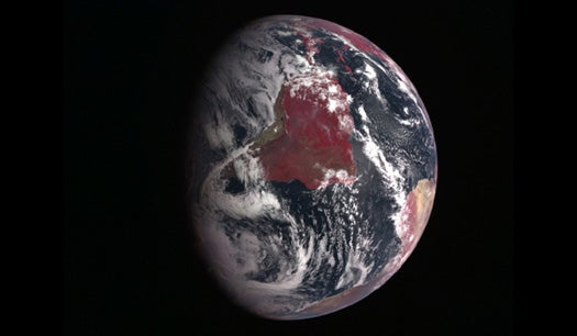 16-Megapixel Infrared Satellite Camera Can Monitor An Entire Continent In a Single Shot