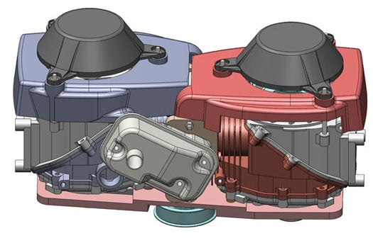 By Splitting the Hot from the Cold, a New Engine Design Could Dramatically Boost Efficiency
