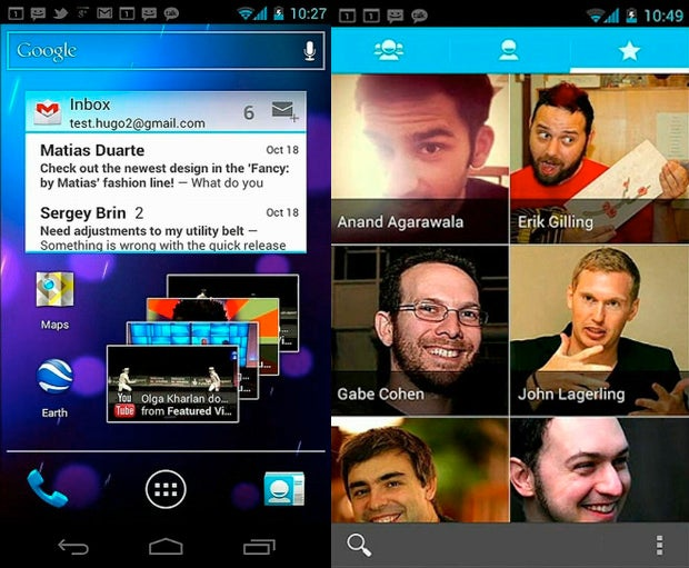 Android Gets a Makeover With Ice Cream Sandwich
