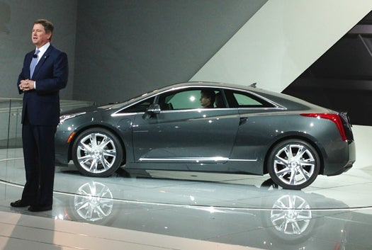 Detroit Auto Show 2013: The Followup To the Chevy Volt Is A Cadillac