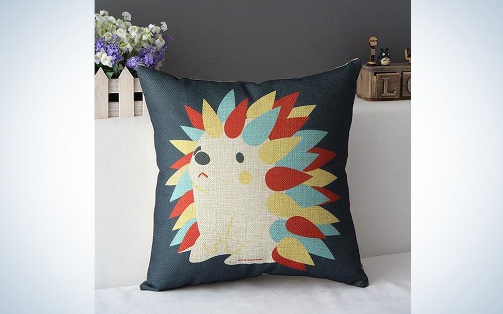 Hedgehog Pillow Cover