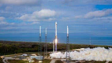 December 2012 Launch Of Air Force Orbital Test Vehicle