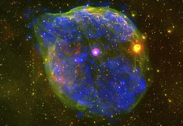 This Giant Stellar Bubble Looks Like A Dog's Head