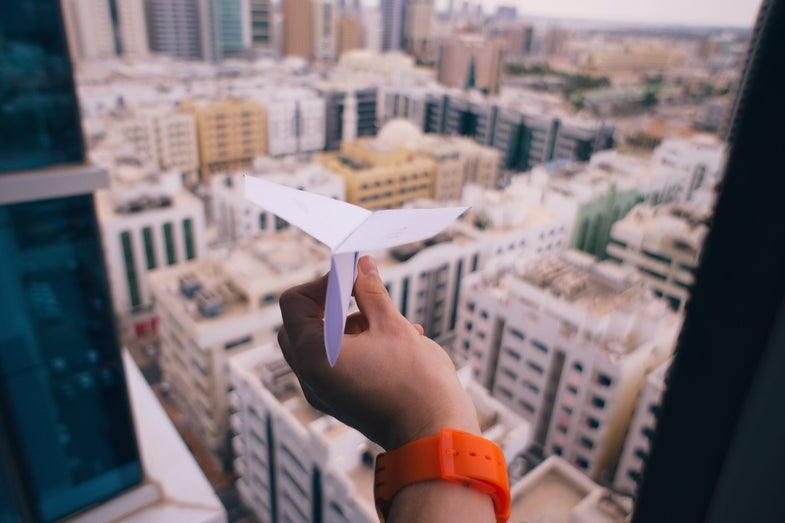 How to make the world's best paper airplane