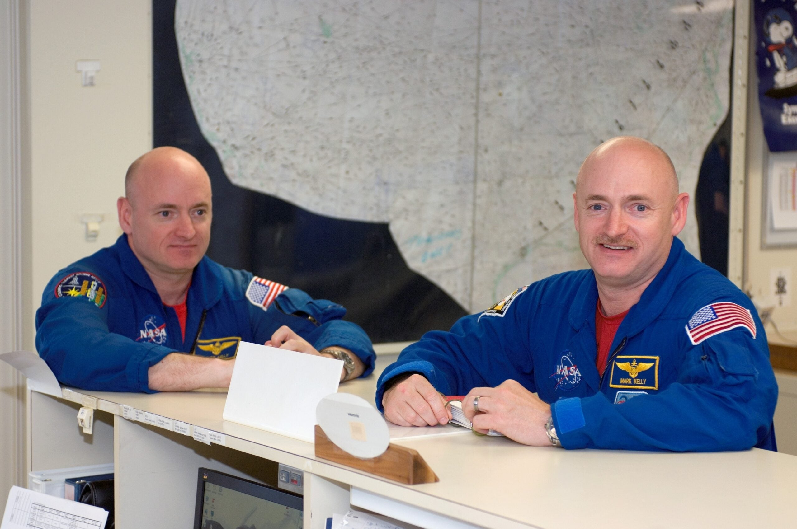 NASA Study Will Compare Twins' Health On Earth And In Space