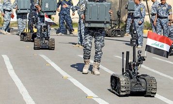 The Robots That Can Be Blown Up and Keep On Detecting IEDs