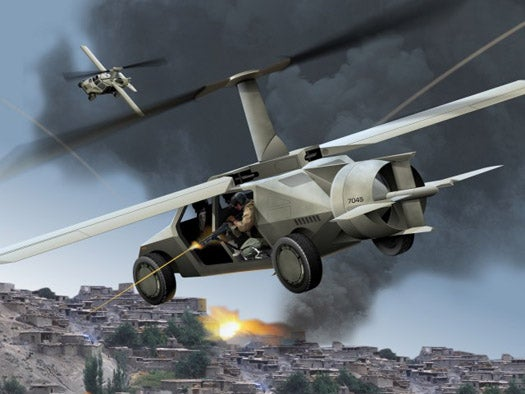 The Unexpected Rebirth of the Flying Car