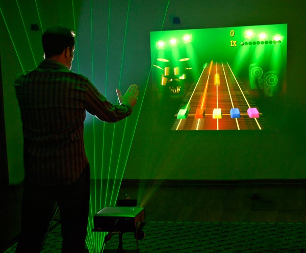 Making Music with Lasers