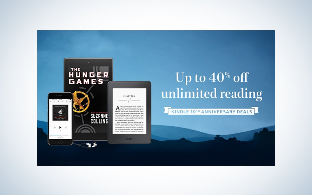 Kindle devices and Kindle Unlimited deals