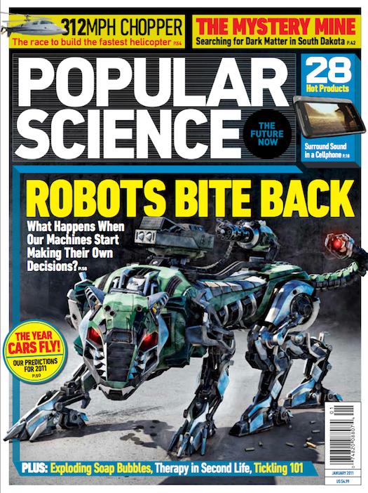 January 2011: Robots Bite Back