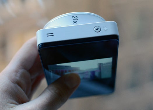Samsung Galaxy Camera From Side