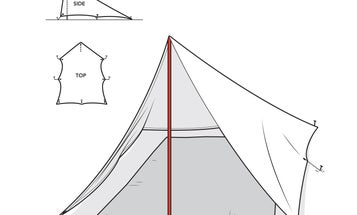 Build A Lightweight Tent For A Pittance