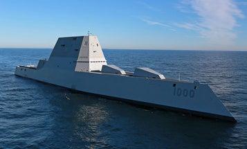 Zumwalt Destroyer Delivered To The Navy