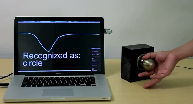 Video: Touch-Sensitive Doorknobs Could Lock or Unlock With the Curl of a Finger