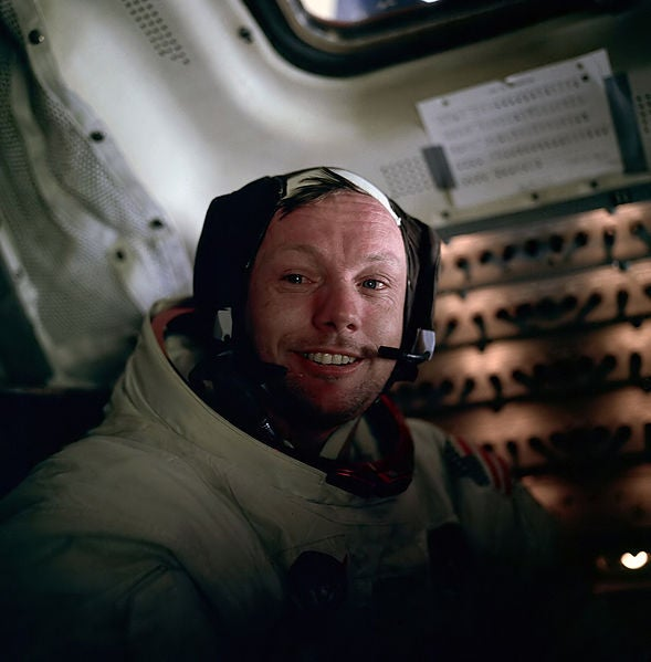 Watch: Neil Armstrong Narrates His Moon Landing In a Rare TV Interview