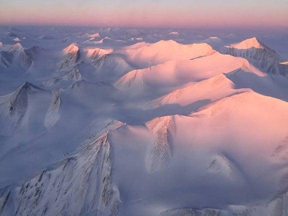 Ellesmere Island mountain tops