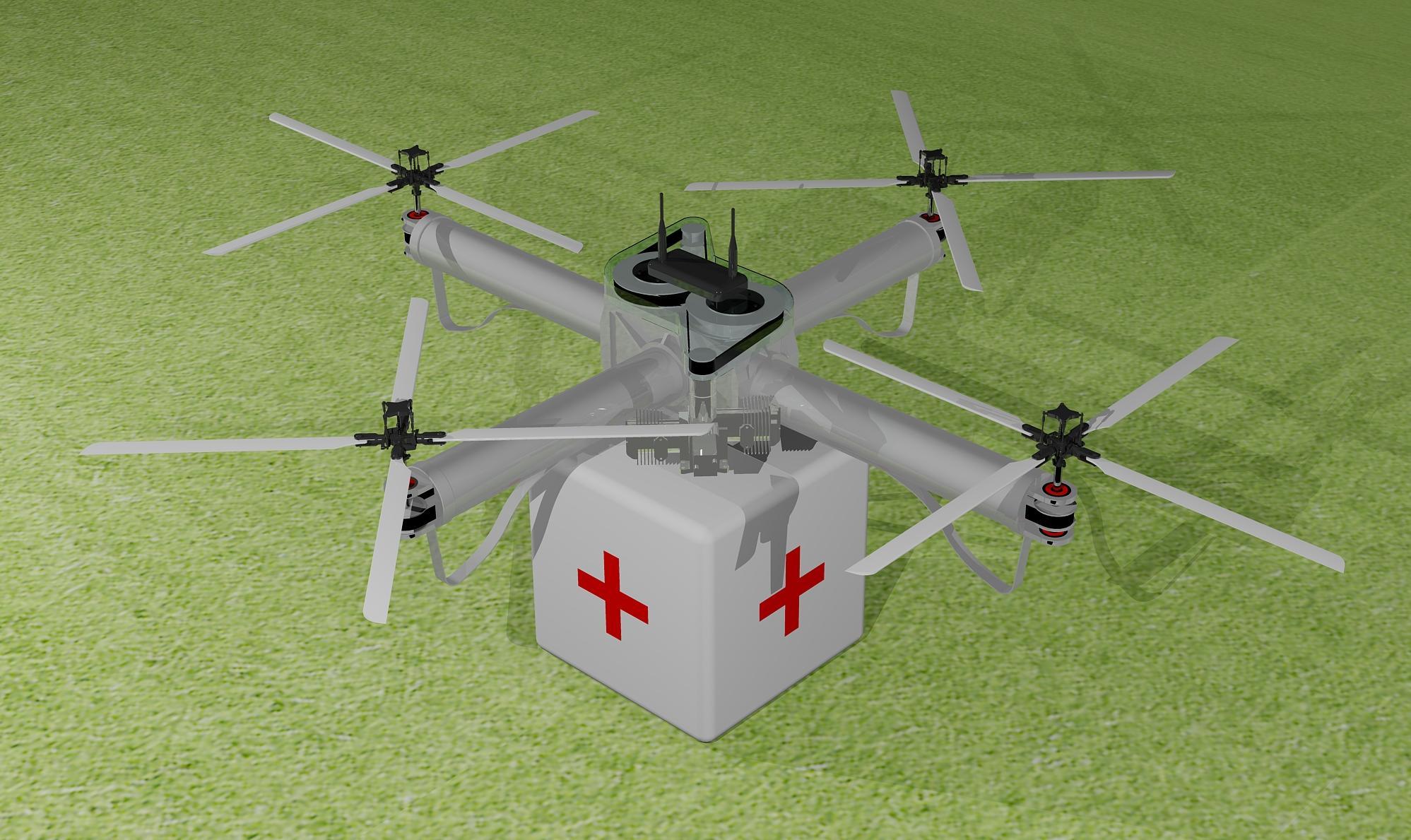 Students Kickstart A Do-Gooder Drone