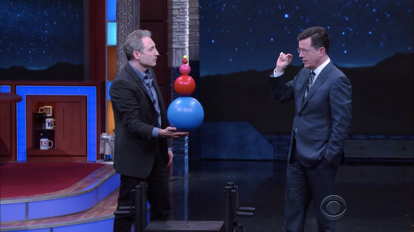 Learn How Supernovas Work With Stephen Colbert
