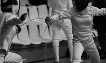 High-Tech iPhone Games Sharpen Olympic Fencer's Concentration