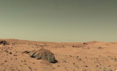 The First Martian Weatherman Forecasts Conditions on the Red Planet
