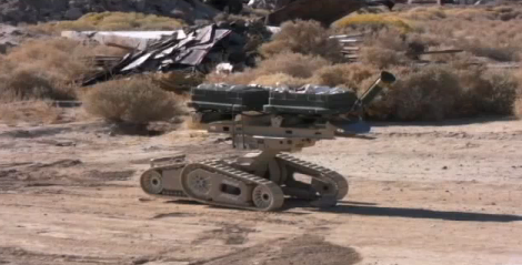 New Army Bot Blasts Land Mines With a 150-Foot Bomb-on-a-String