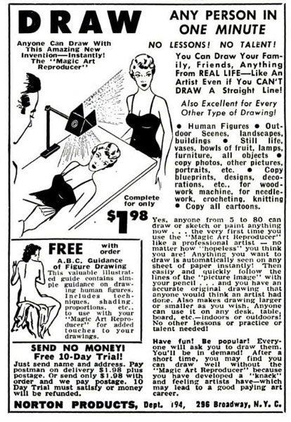 Magic Art Reproducer: January 1958