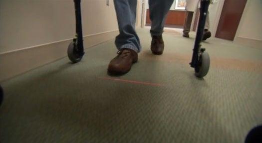 Laser Walkers Could Help Parkinson's Disease Sufferers