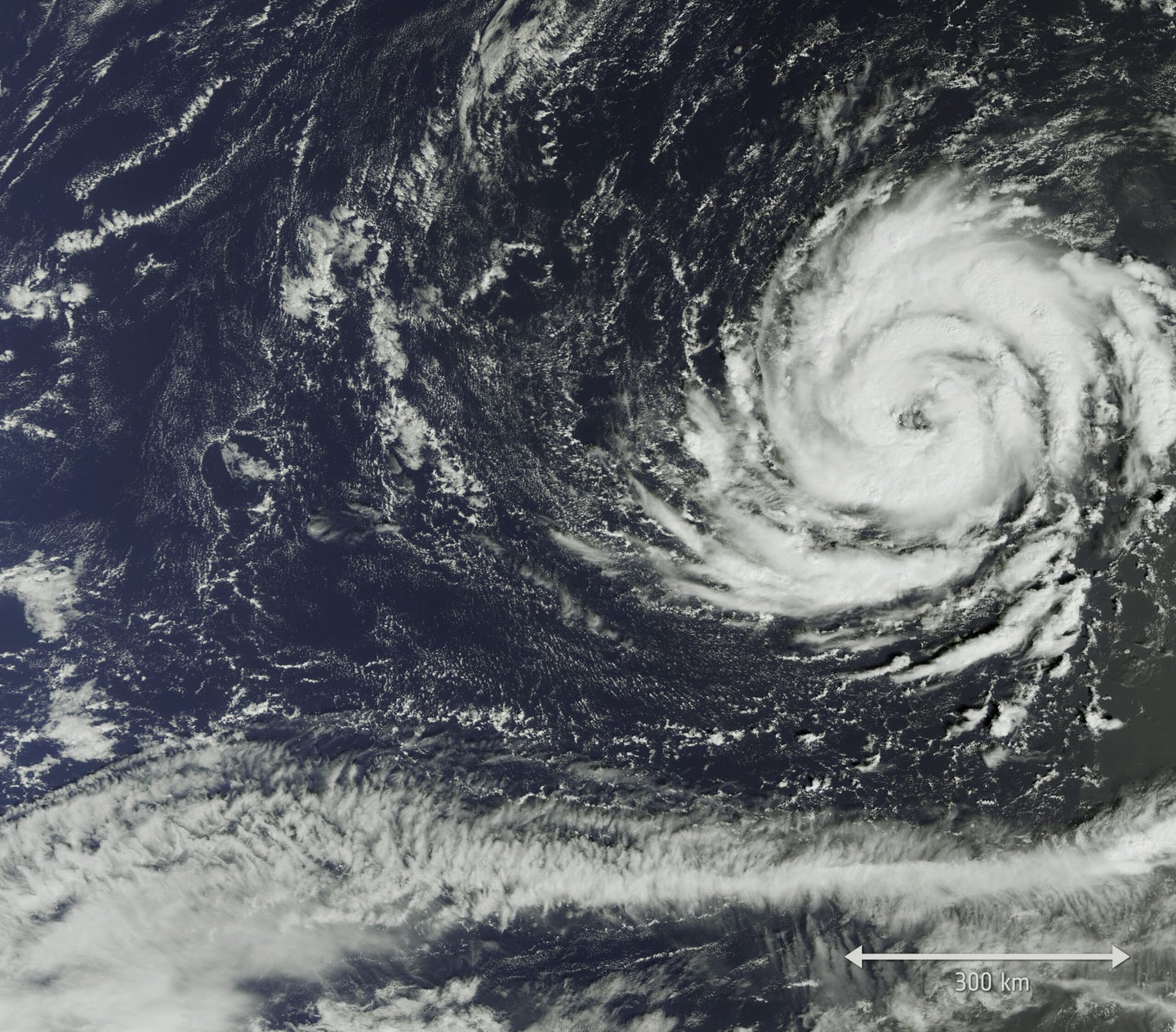 Hurricane Ophelia is one extremely weird storm