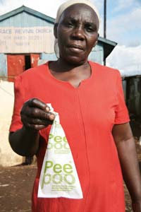 PeePoo Bags Sterilize and Compost Human Waste Where Toilets Are a Luxury