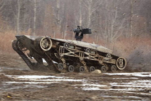 Invention Awards: Ripsaw Tank Delivers Death at 60MPH