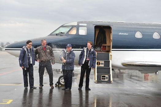 Swiss Team Breaks Record for Around-the-World Flight, Despite Encountering Volcanic Eruption