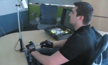 """Video: MIT Students' DIY """"Minority Report"""" Glove Mouse"""